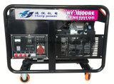 Générateur à la maison 220V, générateur portatif de Honda de l'essence 750W d'essence