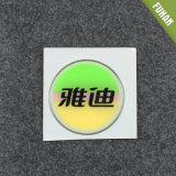 Runde Form-transparenter Epoxidharz-Großhandelsaufkleber
