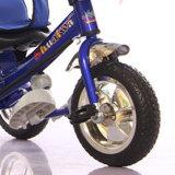 지붕을%s 가진 3명의 바퀴 자전거 장난감 아이들 세발자전거