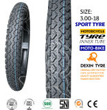 モーターバイクのオートバイのタイヤのスクーターのタイヤのスポーツは3.00-18を疲れさせる