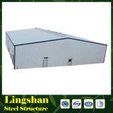 Almacén prefabricado del marco de la estructura de acero del diseño de la construcción del bajo costo
