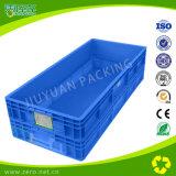 Caja Facturación PP de plástico para transporte con el cantón y el Mango