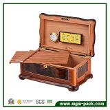 Innovadora con Divisor de madera de cedro caja de cigarros Humidor