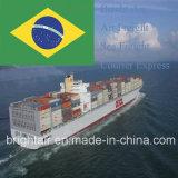 Конкурсные морские тарифы перевозкы груза перевозки моря цены поставки от Китая к Paranagua, Бразилии
