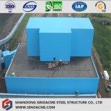 Fabbricato industriale del blocco per grafici pesante della struttura d'acciaio con la galleria