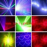luz laser programable del color multi 1W