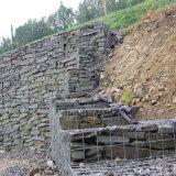 Caixa soldada de Gaibon do engranzamento de fio para a gaiola de pedra