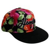 Gorra de béisbol floral de la manera de la tela con el Snapback Sb1520