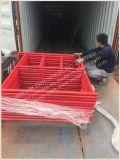 Poeder het van uitstekende kwaliteit van de Steiger van het Frame van de Metselaar bedekte Rood met een laag