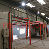Camminata in Type Manual Powder Coating Booth con High Performance