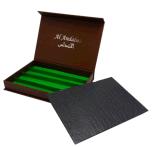 Empaquetage fabriqué à la main de boîte-cadeau de carton