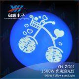 HMI 1500Wは点ライトか段階の照明装置に続く