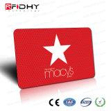 ユニバーサル(デュアルインターフェイス)スマートなRFIDの光沢PVCカード