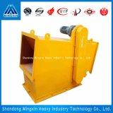 Separator van het Type van Pijpleiding van Rcgz de Automatische Magnetische voor Gips, Voedsel en Andere Industrie