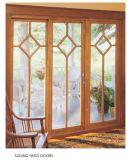 Подъем верхнего качества алюминиевый & сползать дверь Tempered стекла, прочный алюминиевый подъем & сползать дверь патио от китайского изготовления