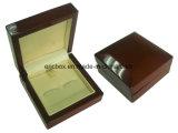 Caixa de embalagem de madeira da jóia do presente de Storge do botão de punho do papel do cartão Jy-Cub17
