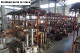 Cadena de producción de los macarrones que hace la máquina