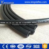En853 2sn適用範囲が広くスムーズなカバー鋼線補強された産業油圧ゴム製オイルのホース