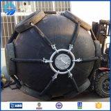 Pára-choque inflável preto protetor da borracha de Yokohama do navio