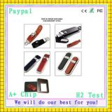 Paiement sécurisé de haute qualité USB Flash Drive de cuir (GC-L008)