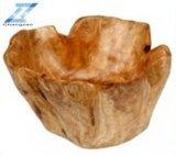 Grande cuvette supplémentaire en bois de racine