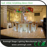 결혼식을위한 LED가 반짝 반짝 빛나는 댄스 플로어null