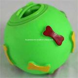 Neuer Form-Gummi verfolgt Durchsickern-Nahrungsmittelkugel, Haustier-Spielzeug