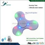 LED 빛과 Bluetooth 무선 스피커를 가진 싱숭생숭함 방적공 및 재충전용