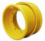 9.00X15.3車輪はトラクターのための農業の鋼鉄車輪に縁を付ける