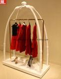 Гондола способа металла для розничного магазина одежды, стеллажа для выставки товаров
