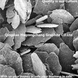 Серебристый графит используемый тиглем естественный +895