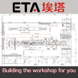 PCBA Production Line, SMT Assembly Line, SMT Manufacturing Line (printer+mounter+reflow 오븐)