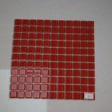 De Rode Tegel van uitstekende kwaliteit van het Mozaïek van het Glas van het Kristal voor Verkoop