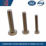 Tornillos completos estándar de la cuerda de rosca de la pista Hex del ANSI de la exportación caliente de China