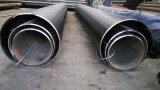 Api 5L ERW Black Varnished Steel Pipe