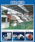 Papier de soie de soie de toilette d'ensemble complet de qualité faisant les machines Eqt05