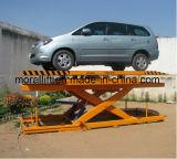 Plaque tournante de levage de véhicule de ciseaux de garage