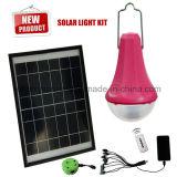 太陽エネルギーの供給の小型太陽ホームシステム携帯用太陽ライトキットUSBの太陽充電器