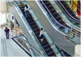 Escalators lourds de transport en commun de DSK