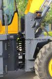 Do carregador hidráulico do condicionador de ar de Control&Pilot Control& da escavadora da lâmina carga Rated 3 toneladas