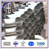 Grado Sr/Lr de la autógena de tope del acero inoxidable de Wp316/316L Elbow45/90/180