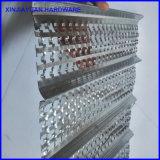 U-Muster perforiertes Hy gewelltes Metalllatte-Blatt für Stuck-Aufbau
