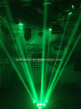 Randello di notte LED che sposta l'indicatore luminoso del ragno di 3heads LED