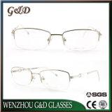 Lente popular Eyewear de los marcos ópticos del metal del diseño de la manera