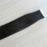 Estensione di trama 100% dei capelli del nastro dei capelli umani di Remy dei capelli della pelle