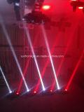 LED-Armkreuz-bewegliche Hauptdisco-Beleuchtung