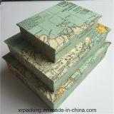 De buitensporige Druk van het Vakje van de Gift van het Karton van het Vakje van de Verpakking van het Document
