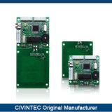De geïntegreerdee Module van de Schrijver RFID van de Lezer van de Chipkaart van met RS232/Ttl Interfafce