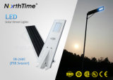 전화 APP를 가진 지능적인 통제 Sunpower 단청 실리콘 위원회 태양 가로등
