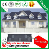 石造りチップナイジェリアラゴスの市場のための上塗を施してある屋根ふきシート